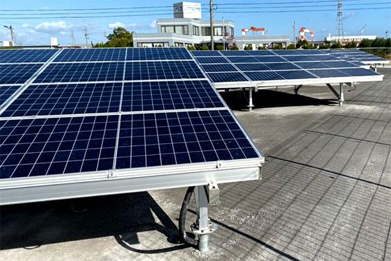 地上 太陽光発電設置