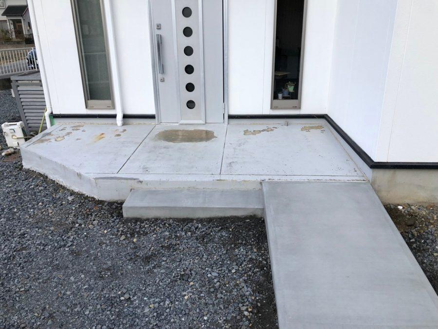 ローラーストーン 玄関まわり 画像6