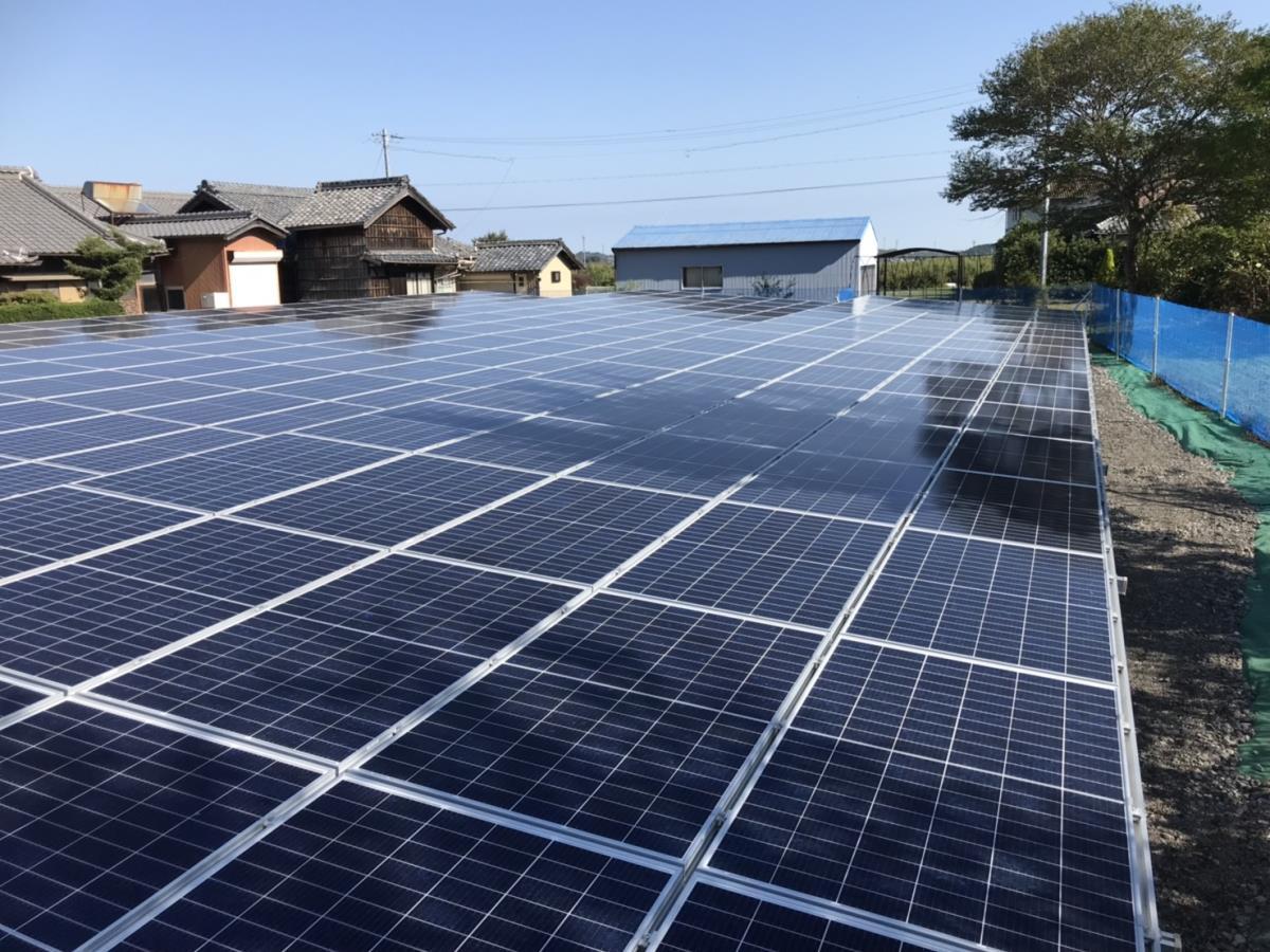 太陽光設置 津市芸濃町多門 49.5kw