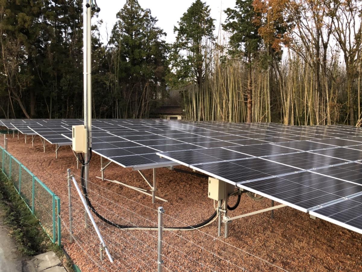 太陽光設置 津市安濃町安濃 49.5kw
