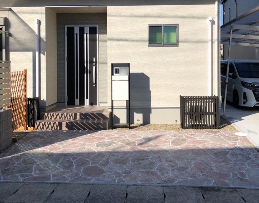 ローラーストーン 玄関まわり 画像2