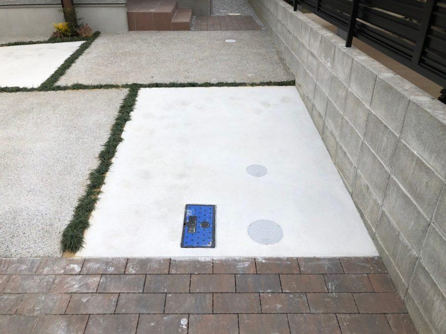 ローラーストーン 駐車スペース・アプローチ 画像6