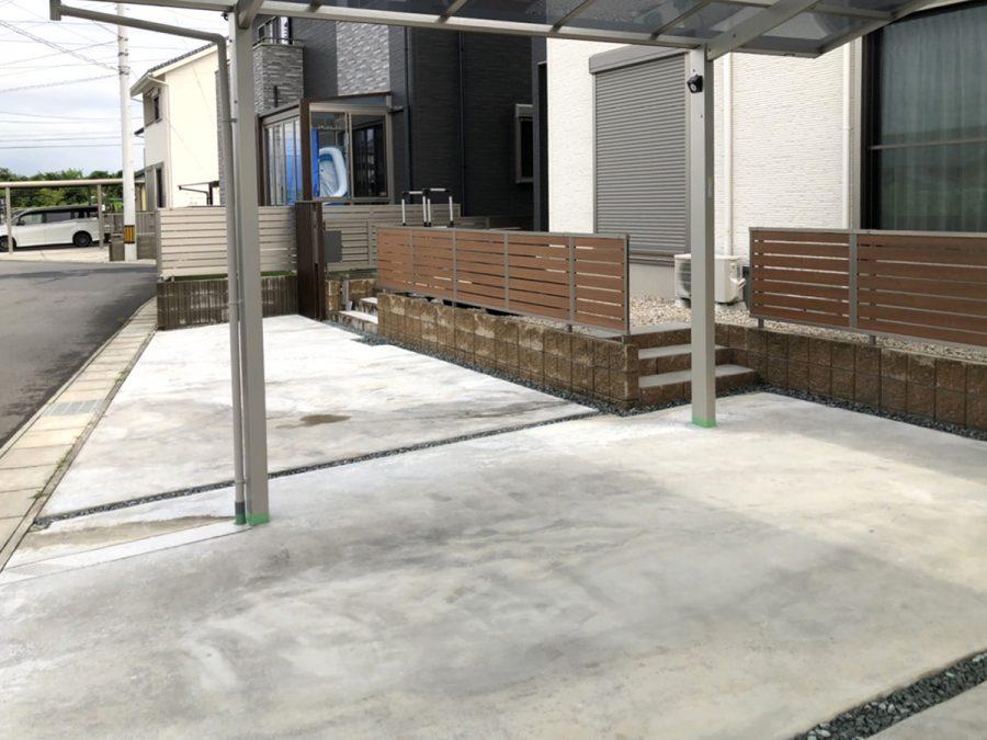 ローラーストーン 駐車スペース・アプローチ 画像5